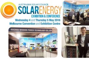 2016 Australian International solar Energy Exhibition