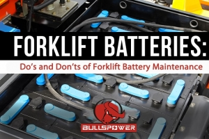 EVERYTHING YOU NEED TO KNOW ABOUT CHARGING YOUR FORKLIFT BATTERY