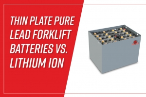 Thin Plate Pure Lead Forklift Batteries vs. Lithium Ion