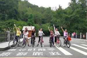 Ride your bike to enjoy the sunshine 【Wisdom Power】