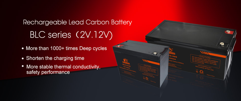 Rechargeable lead carbon battery