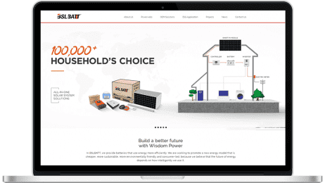 We've launched our Home battery new website