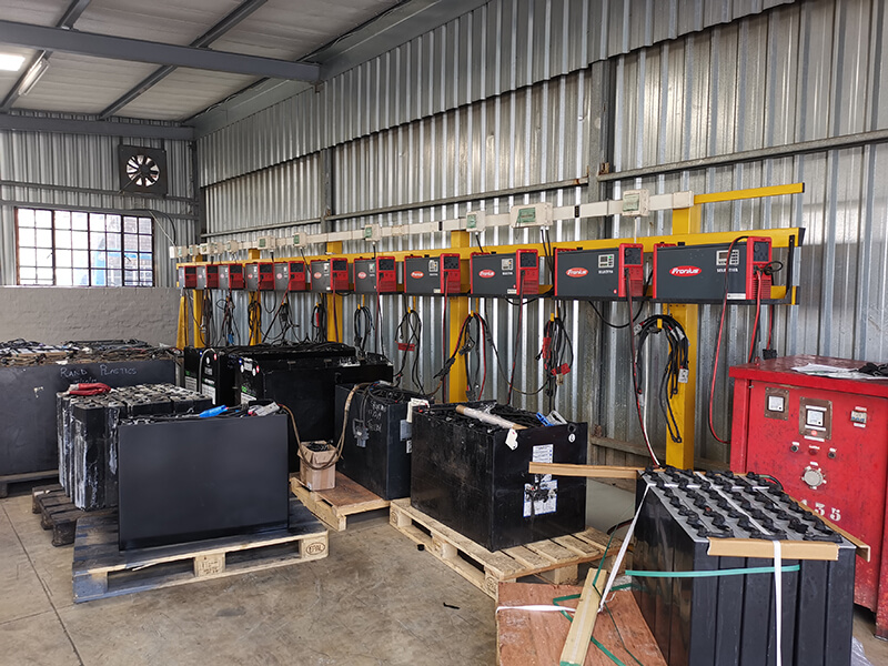 Lead Acid Forklift Battery charage