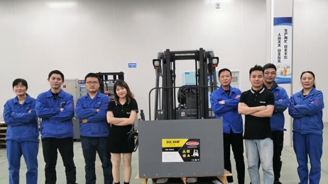 BSLBATT technologies has introduced its Lithium Material Handling Battery