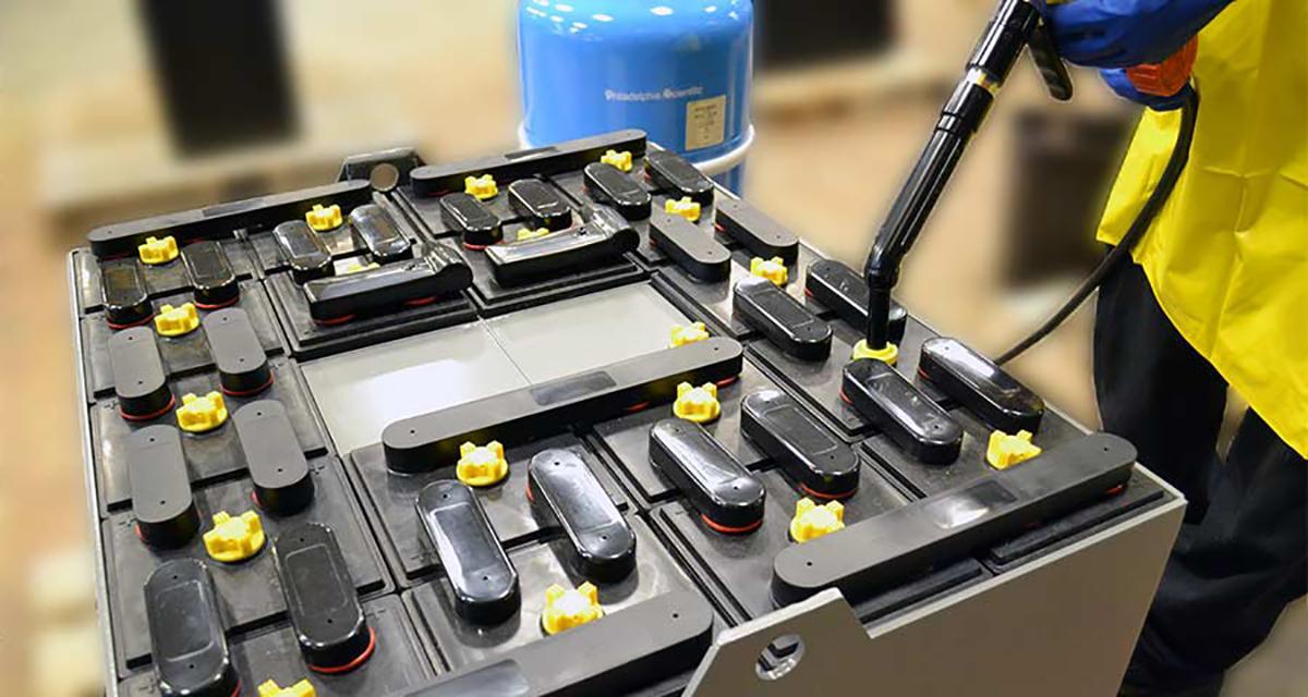 forklift battery type