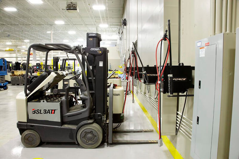 forklift battery Life