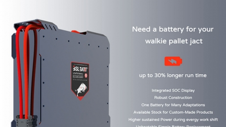 BSLBATTT Introducing Lithium Batteries for 4500 lb Electric Pallet Jacks.