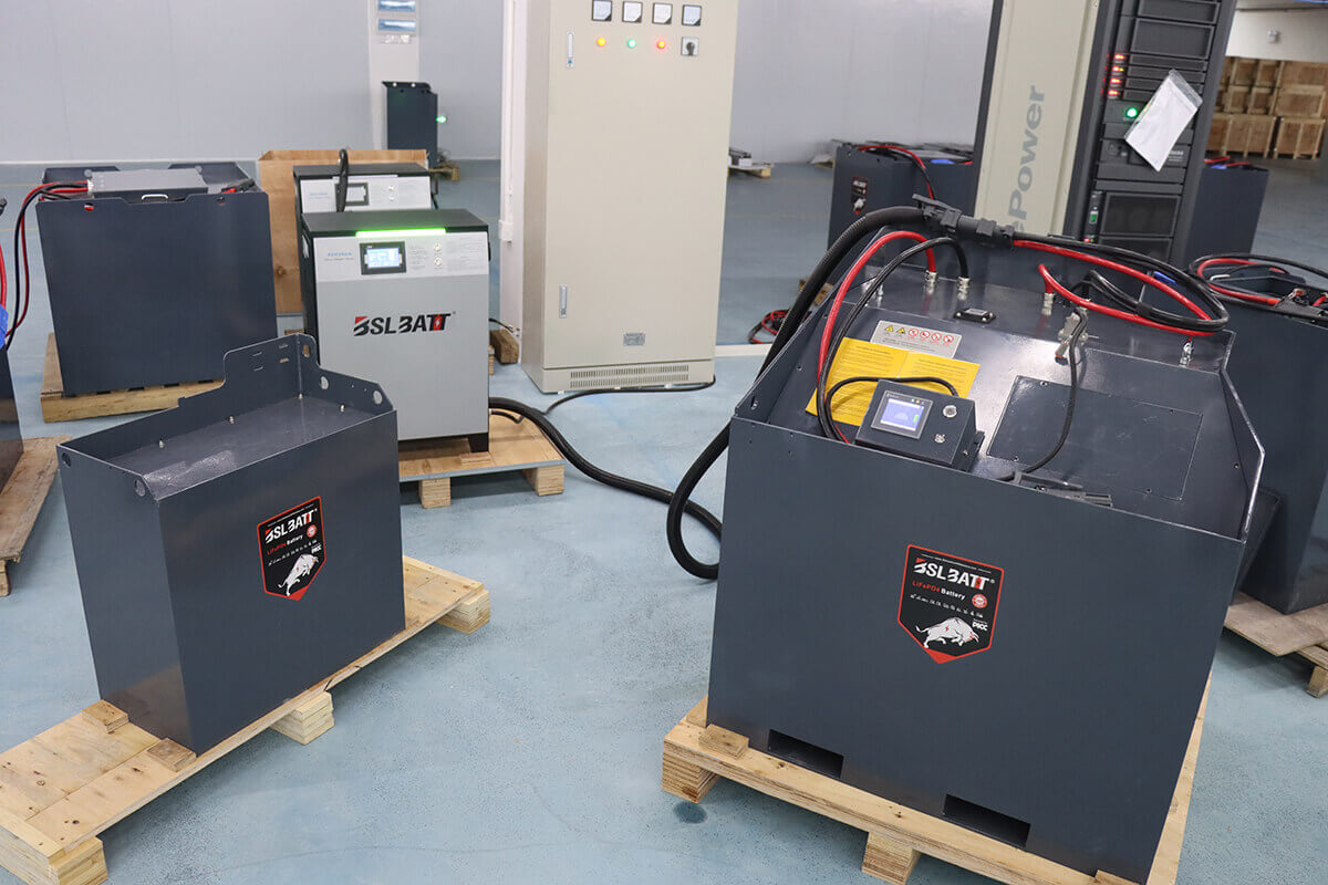How to extend the battery life of electric forklifts by 40%?