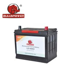JIS 12V 60Ah Auto Power Battery