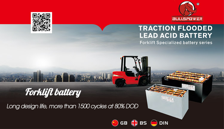 Traction Forklift battery type